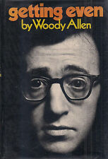 "WOODY ALLEN ""Getting Even"" (1971) SIGNED First Printing of the FIRST EDITION"