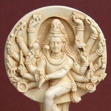 Hindu Lord Shiva Statue Figurine Puja Statue Ivory Color Made in USA #MSSSHL