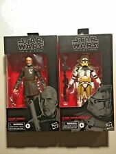 Star Wars Black Series: 104 Clone Commander Bly & 107 Count Dooku