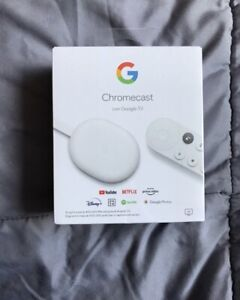 Google Chromecast con Google TV 4К Streamer de Medios con Google Assistant -...