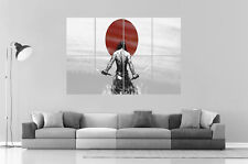SAMURAI GUERRIER WARRIOR JAPONAIS Wall Art Poster Grand format A0 Large Print