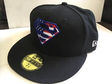 S21 NEW ERA 9FIFTY Fitted Baseball Cap SUPERMAN Stars Stripes Logo Var Size