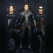 "NECA Terminator 2 Judgment Day T-800 Ultimate Arnold 7"" Action Figure Doll Loose"