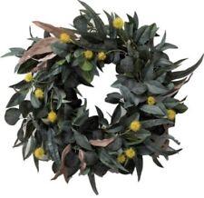 Hearth & Hand™ Magnolia Wreath faux Olive Leaf & Crespedia Wreath ~NEW