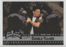 1995 Fleer Mighty Morphin Power Rangers The Movie #66 Double-Teamed Card 3c7