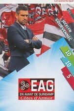 EAG-01 LOGO ECUSSON - GOURVENNEC # GUINGAMP CARD ADRENALYN FOOT 2015 PANINI