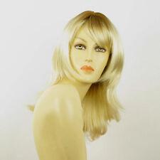 Perruque femme mi-longue méchée blond racine blond foncé LILI ROSE YS