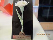 Lladro # 5184, White Carnation, on stand,  Original  box