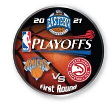2021 NBA Rond 1 Collecteur Broche New York Knicks Vs.Atlanta Hawks Playoffs