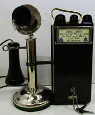 Western Electric Nickel Candlestick with Gray Pay Station