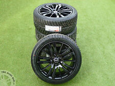 """GENUINE RANGE ROVER SPORT HST 20""""INCH BLACK ALLOY WHEELS+TYRES, DISCOVERY 3/4"""