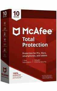 McAfee AntiVirus Essential Protection For Your PC (10 PC)