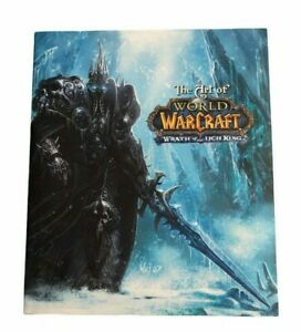 Hardcover Art Book - The Art Of World Of Warcraft: Wrath Of The Lich King