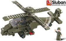 Sluban Toy Building Military Army Bricks Blocks Attack Apache Helicopter B0298
