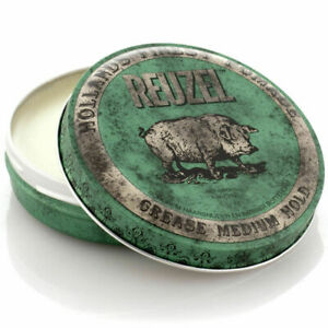 Reuzel Green Medium Hold Grease Pomade 4 oz 113g