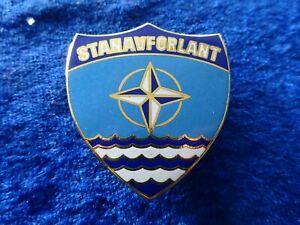 (52-13) ID Badge NATO  STANAVFORLANT