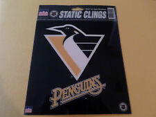 "Pittsburgh Penguins NHL 6"" Car Window Cling Decal by Starline Offical Licensed"
