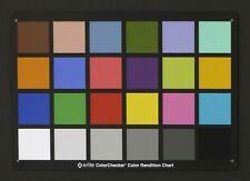 X-Rite/Pantone MSCCC ColorChecker Chart MCR102