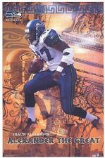 2003 Shaun Alexander Seattle Seahawks Original Starline Poster