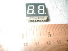 GENERIC KPD-4201 DUAL 7-SEGMENT LED DIGIT DISPLAY GREEN CB CHANNEL 7/16 in NEW