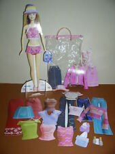 """Barbie, Set of Cardboard """"Paper"""" Dolls, Barbie, Many Outfits and Accessories!"""