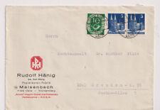 Bauten, Mi. 75eg/Paar, MiF 128, Calw Land (Maisenbach), 11.6.51