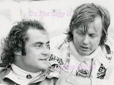 Ronnie Peterson & Gunnar Nilsson F1 Portrait Monaco Grand Prix 1977 Photograph