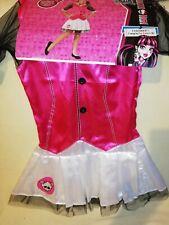 LICENSED DRACULAURA MONSTER HIGH CHILD GIRLS FANCY DRESS  COSTUME.