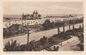 Carte Postale Poméranie Seebad Swinemuende Panorama Promenade de la Plage