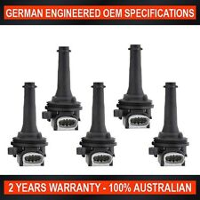 5 x Ignition Coil Grey Plug Volvo C30 C70 S40 S60 S80 V50 &Ford Focus Mondeo XR5