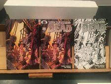 Walking Dead 15th Anniversary Edition #2  3 Variants  NM