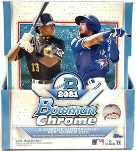 NEW YORK METS 2021 Bowman Chrome Baseball 12-Box Hobby Case #2 Break