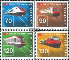 Schweiz 1778-1781 (kompl.Ausg.) postfrisch 2002 SBB