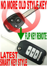 JAPAN NEWest FLIP KEY REMOTE TO 09-2013 PILOT CHIP TRANSPONDER KEYLESS ENTRY ACR