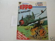 EPPO 1982-23 POSTER JOHAN CRUYFF VOETBAL SOCCER,PARIZANEN COVER,DOE MAAR POP MUS