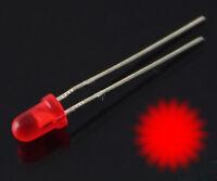 S1089 - 10 Stück Blink LEDs 3mm rot diffus 1,5Hz selbst blinkend Blinklicht