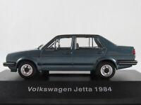 DeAGOSTINI #38 VW Jetta II (1984-1987) in blaumetallic 1:43 NEU/PC-Vitrine