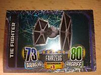 Force Attax Star Wars Rebels Glitzerkarte Nr.168 Tie Fighter Sammelkarte