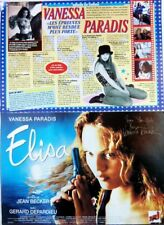 VANESSA PARADIS => COUPURE DE PRESSE 2 pages 1995 //  FRENCH CLIPPING
