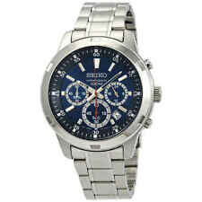 Seiko Neo Sports Chronograph Blue Dial Men's Watch SKS603P1