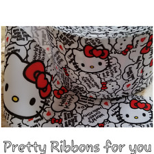 "Cartoon 3"" grosgrain ribbon 2 yards listing"