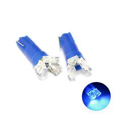 2x Blue 3-LED [T5,286] 12v Dashboard Interior Light Bulbs