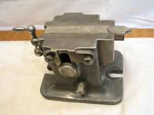 Milling Machine Rotary Table Tailstock Machinist Bridgeport Tool Stock Holder