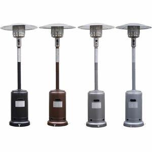 New Garden Outdoor Patio Heater Propane Standing LP Gas Steel w/accessories