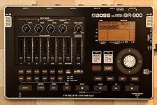 BOSS Digital Recorder BR-800 Portable 4-Track MIDI I/O Line XLR Console/Tabletop