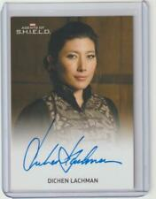 MARVEL AGENTS SHIELD AUTOGRAPH CARD DICHEN LACHMAN SIGNED JAIYING ALTERED CARBON