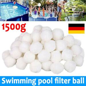 Filter Balls 1500g Filterbälle Filtermaterial ersetzen 50 kg Filtersand für Pool
