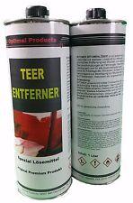 Teerentferner Bitumenlöser Premium 2 X 1 Liter Flasche
