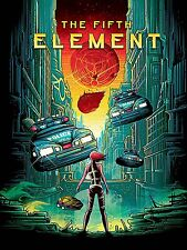 The Fifth Element  Wall Poster  24 in x 18 in ( Fast Shipping )