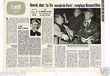 Coupure de presse Clipping 1980 (2 pages) La Traversée de Paris Bourvil